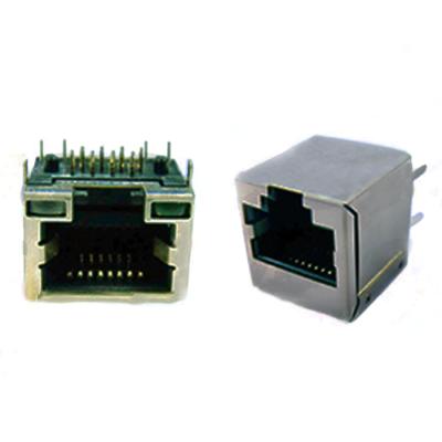 Modular Telephone Jacks, Ethernet Connectors, RJ11, RJ12 and RJ45 Single Port Connectors